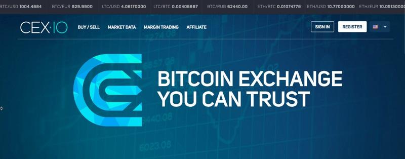 Покупка биткоинов на cex.io