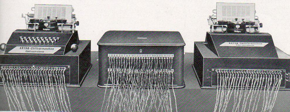 Электрическая модель KRYHA