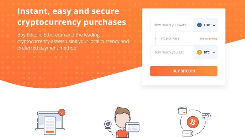 Покупка биткоинов на Bitit