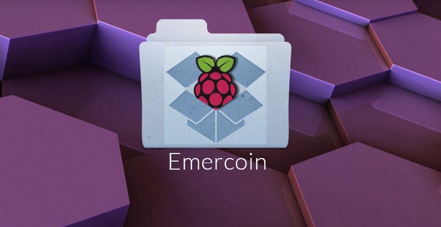 Бэкап кошелька EmerCoin на Raspberry Pi в Dropbox