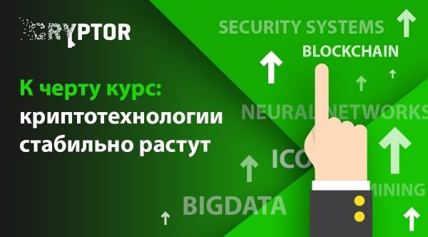 К черту курс: криптотехнологии стабильно растут